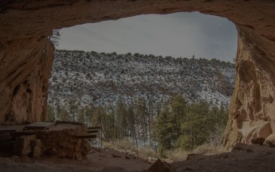 A Day in Bandelier National Monument, New Mexico