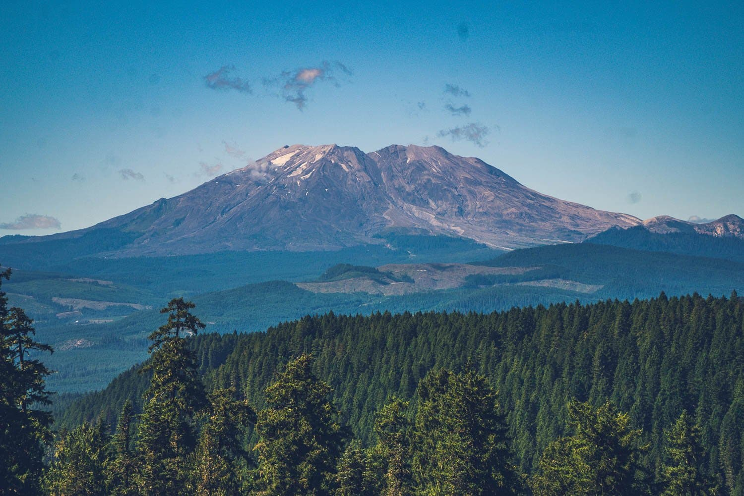 national parks guide: mount saint helens